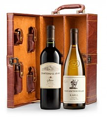 Wine Gifts: Fine Wine Tote with Your Choice of Wine