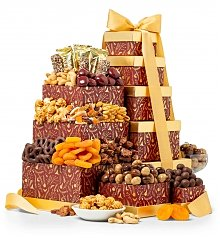Gift Towers: Nuts and Chocolate Wishes Tower