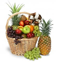 Fruit Gift Baskets: Colossal Thinking of You Fruit Basket