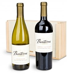 Wine Gift Crates: The Organic Duo