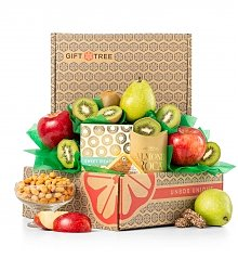 Fruit Baskets: Premium Grade Harvest of Thanks